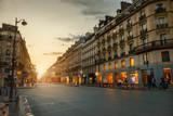 Fototapeta Fototapety Paryż - Rue de Rivoli, Paris, France