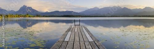 Auszeit und Erholung am See im Allgäu