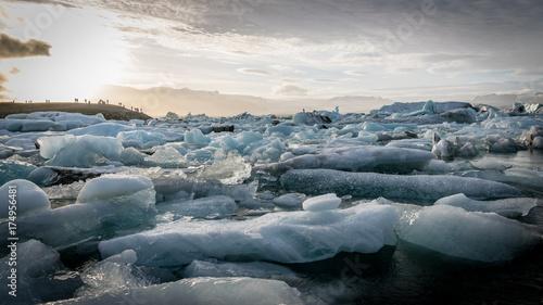 Plakat Jökulsárlón Icebergs
