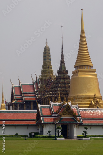 Thailand Bangkok Grand Palace Temple of Emerald Buddha Canvas
