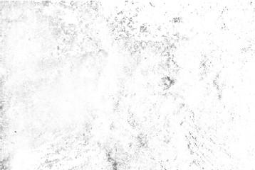 Nakładka tekstury wektor subtelny czarny półtonów. Monochromatyczne streszczenie splattered białe tło. Tło kropkowane ziarna grunge czarno-biały. Kropka i koło brudny efekt.