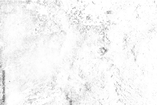 Subtle black halftone vector texture overlay. Monochrome abstract splattered white background. Dotted grain black and white gritty grunge backdrop. Dot and circle dirty effect.