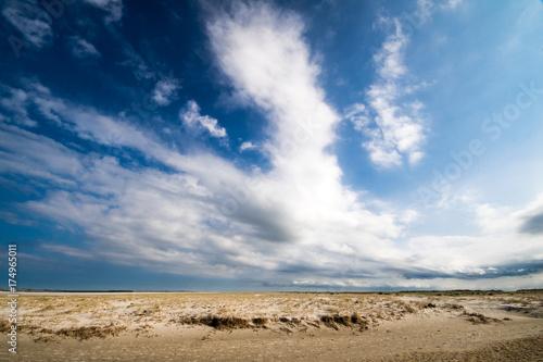 Spoed Foto op Canvas Noordzee Nordsee, Strand auf Langenoog: Dünen, Meer, Entspannung, Ruhe, Erholung, Ferien, Urlaub, Meditation :)