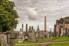 Old Cemetry In Stirling, Scotland
