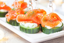 Cucumber With Dill Cream Chees...