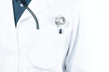 Stethoscope In A Pocket Of A D...