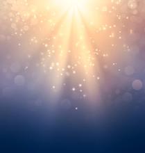 Holy Light On Gold