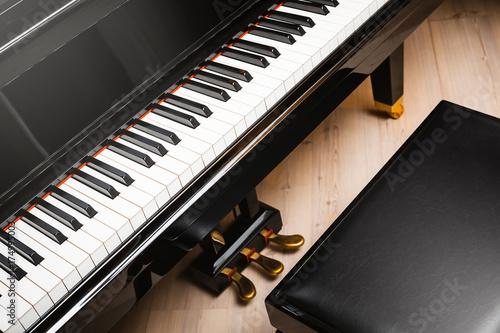 Plakat fortepian