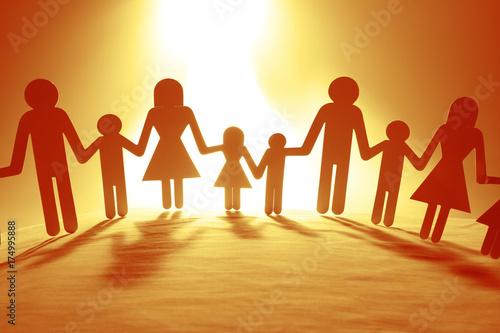 Fototapety, obrazy: Family united