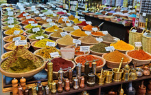 Spices In Small Shop