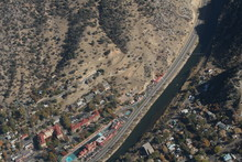 Aerial Of Glenwood Springs, Co...