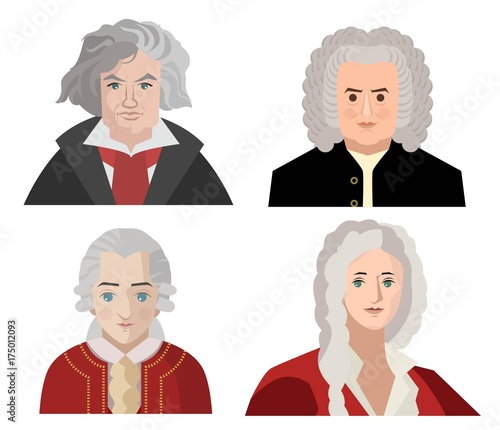 Photo great classical music composers