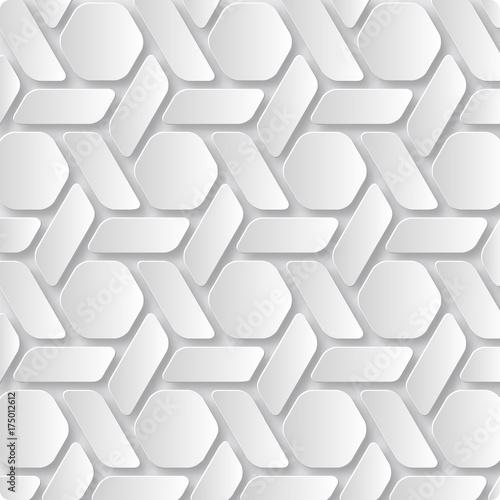 Zdjęcie XXL Streszczenie grafiki 3D papieru