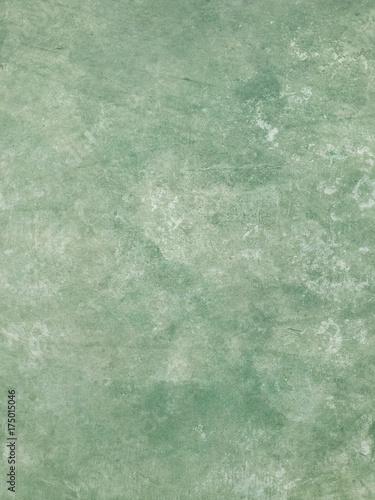 Fotografie, Obraz  Green Concrete Wall Texture
