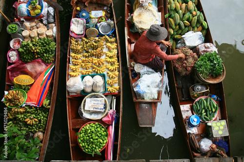 Poster Bangkok floating market