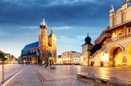 Zdjęcie XXL Kraków, Polska nocą