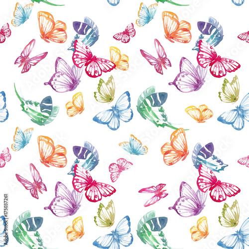 akwarela-motyl-wektor-wzor