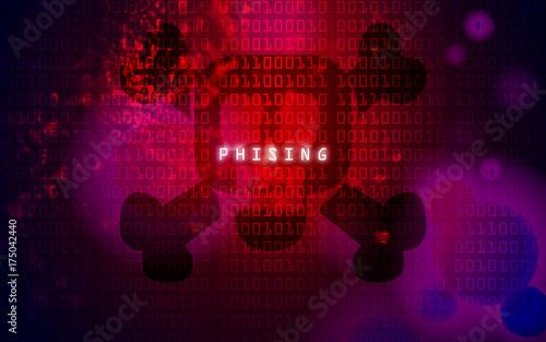 Fotografía  phishing website
