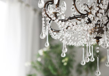Contemporary Crystal Chandelie...