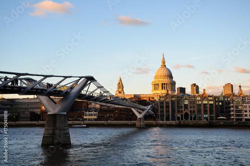 Plakat Millenium Bridge
