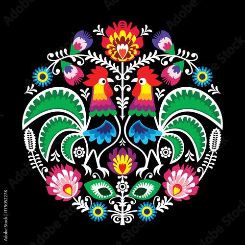 okragly-kwiatowy-wektor-polskiej-sztuki