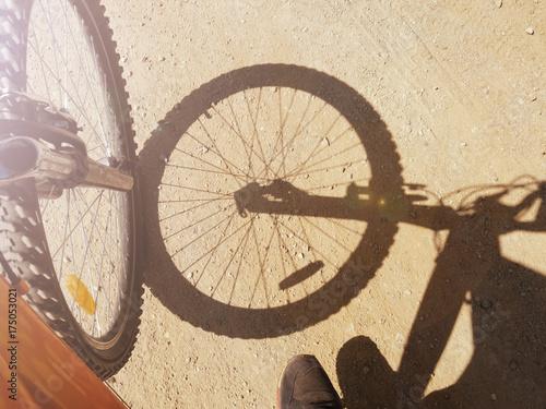 Foto op Plexiglas Fietsen Traveling by Bicycle