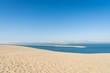 Dune du Pyla (Bassin d'Arcachon, France), vue sur le Banc D'Arguin