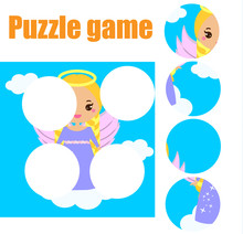 Puzzle For Toddlers. Matching ...