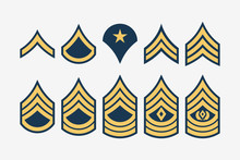Military Ranks Stripes And Che...