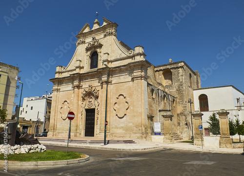 Valokuva  Santa Maria delle Grazie church. Galatina, Apulia, Italy.