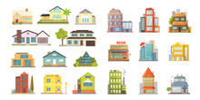 Set Of Different Styles Reside...