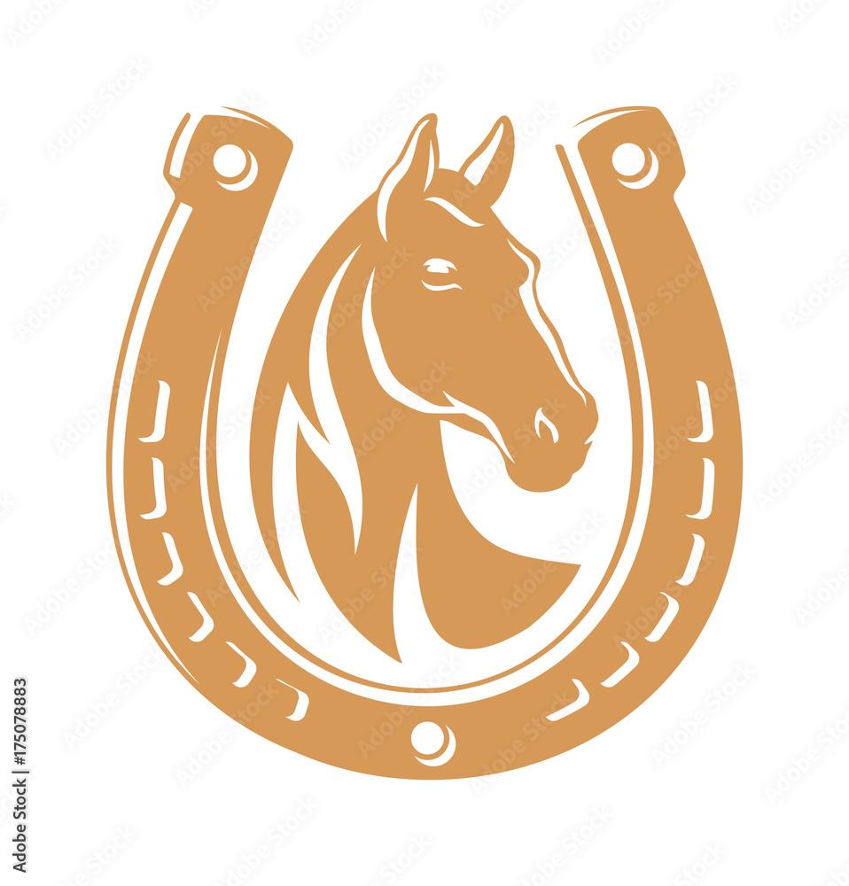 Horse dark emblem