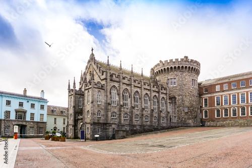 Zdjęcie XXL Uliczny widok Dublin centrum miasta
