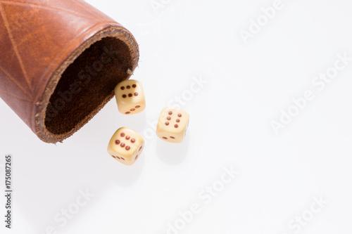 Foto  Glücksspiel Würfeln