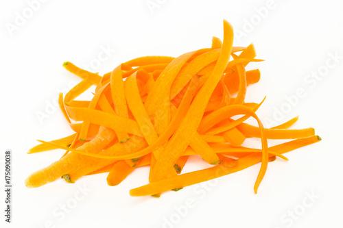 Karottenschnitt