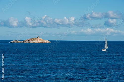 Fotografie, Obraz  Veduta panoramica dello Scoglietto presso isola d'Elba