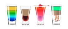 Alcohol Shots Set.