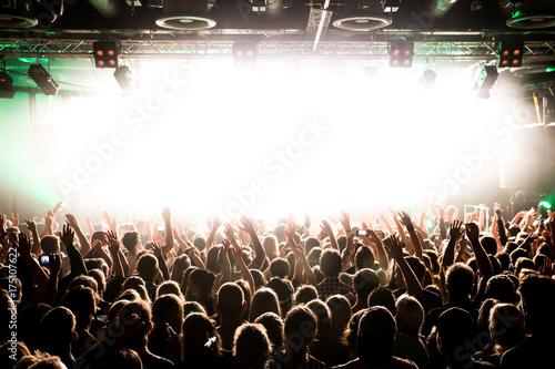 Zdjęcie XXL Odwiedzający koncert Odwiedzający festiwal