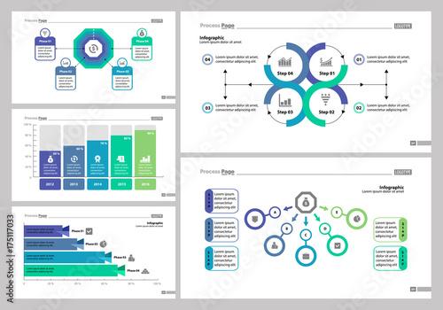 Photo  Five Management Slide Templates Set