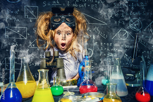 Fototapeta science and education obraz