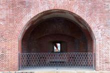 Old Fort Brick Walkway, Decrep...