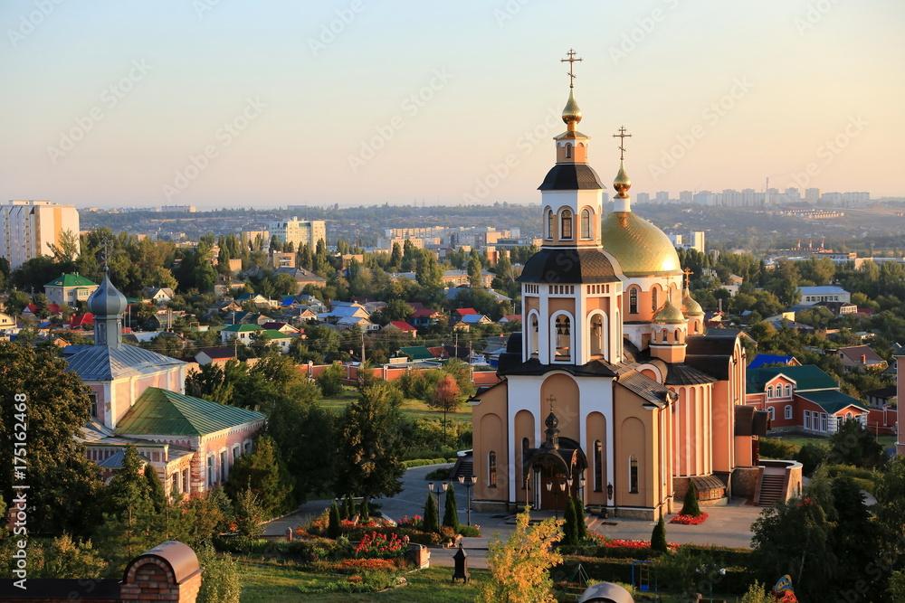 Fototapety, obrazy: St. Alexey's Convent, Saratov, Russia