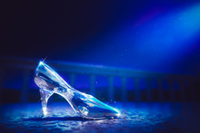 3D Image Of Cinderella's Glass...