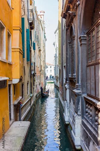 Plakat Widok kanału w Wenecji