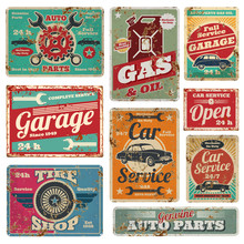 Vintage Car Service And Gas St...