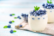 Homemade Yogurt With Fresh Ber...