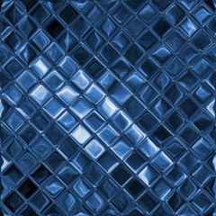 Fototapeta Mozaika Blue glass mosaic background