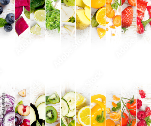 Fruit and Vegetable Mix - 175192431