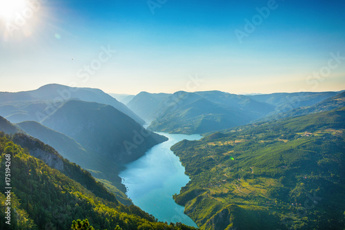 Viewpoint Banjska stena Tara mountain Serbia