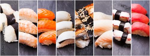 Recess Fitting Sushi bar Nigiri sushi set